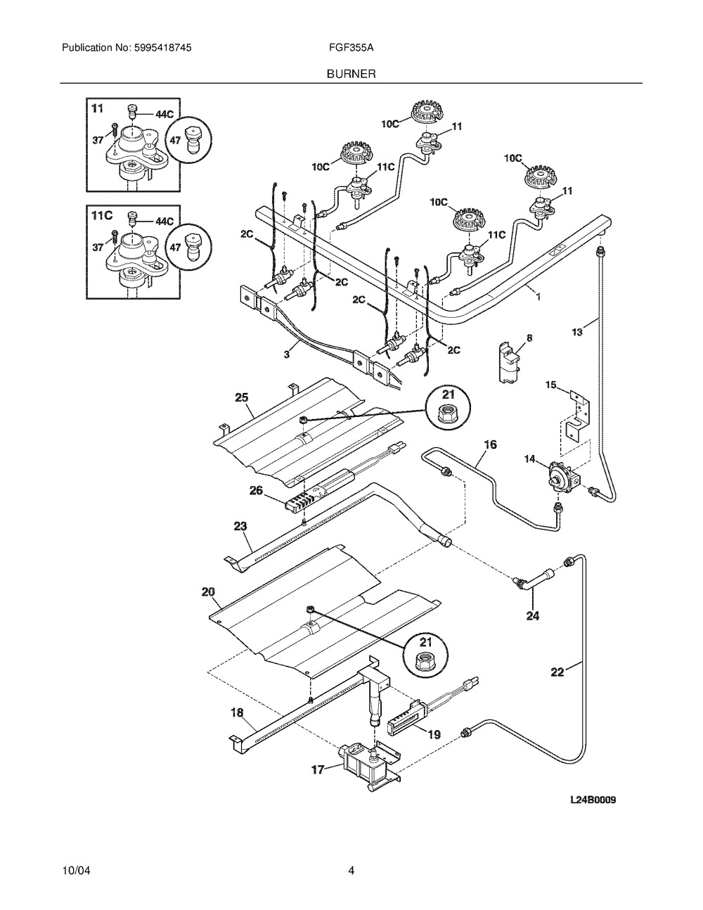 Diagram for FGF355ASH