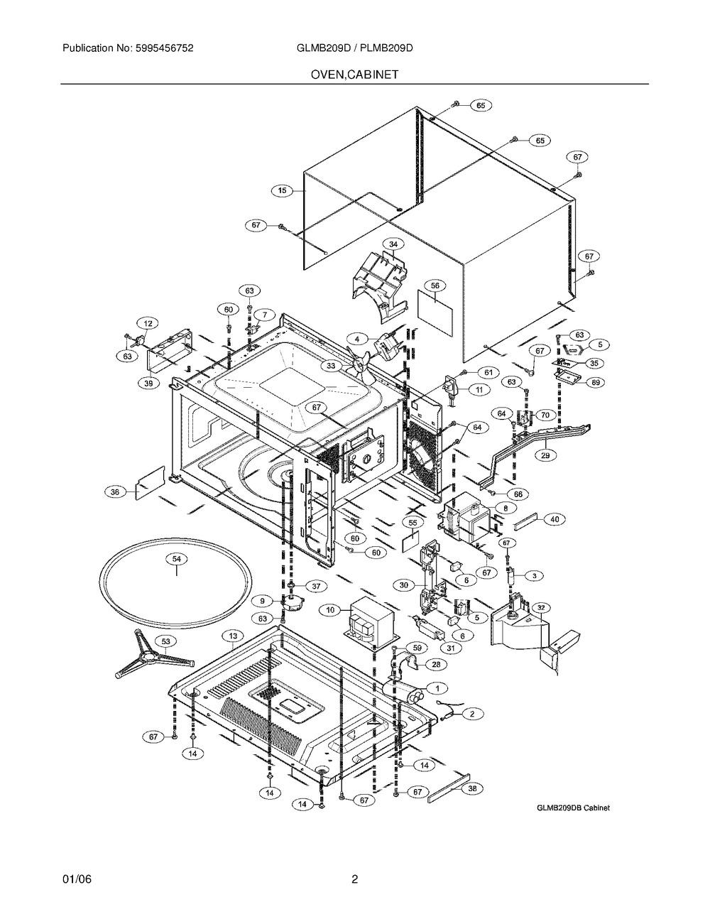 Diagram for GLMB209DSB