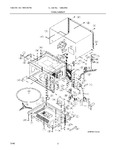 Diagram for 03 - Oven/cabinet