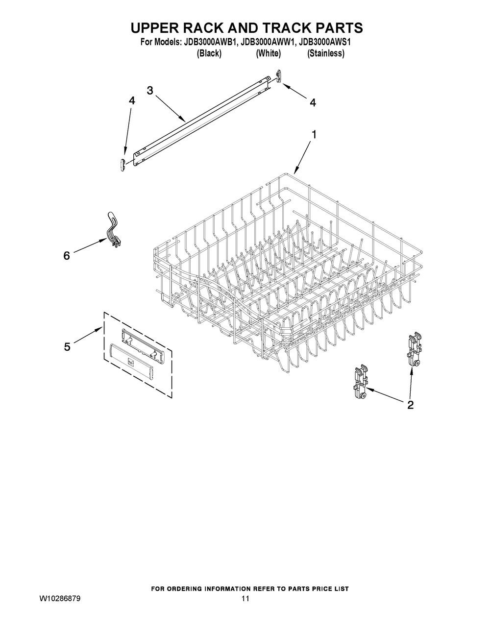Diagram for JDB3000AWW1