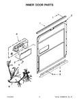 Diagram for 04 - Inner Door Parts