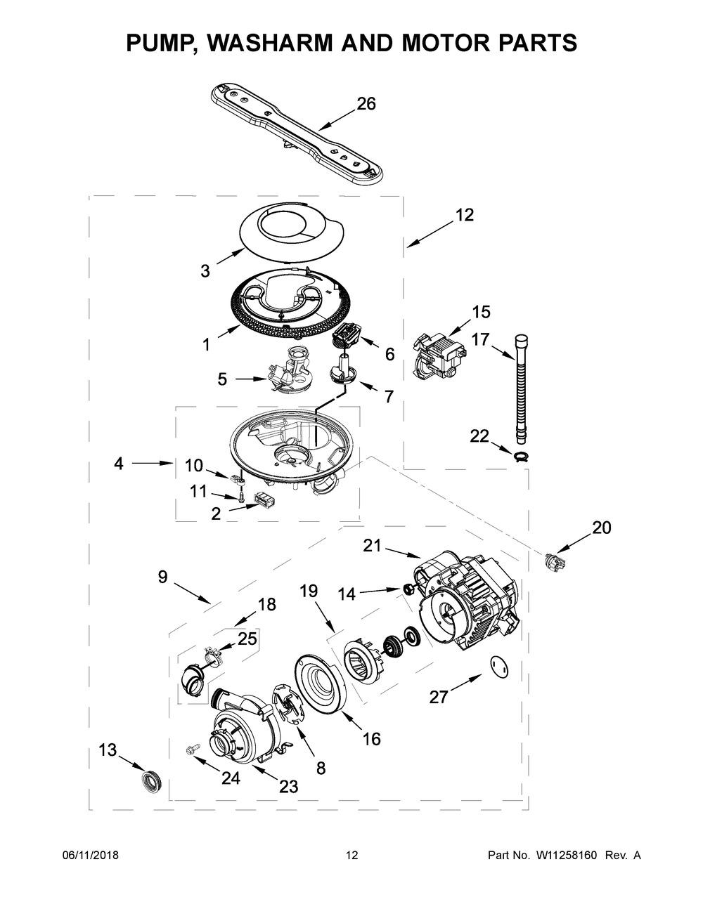 Diagram for MDB4949SHZ0