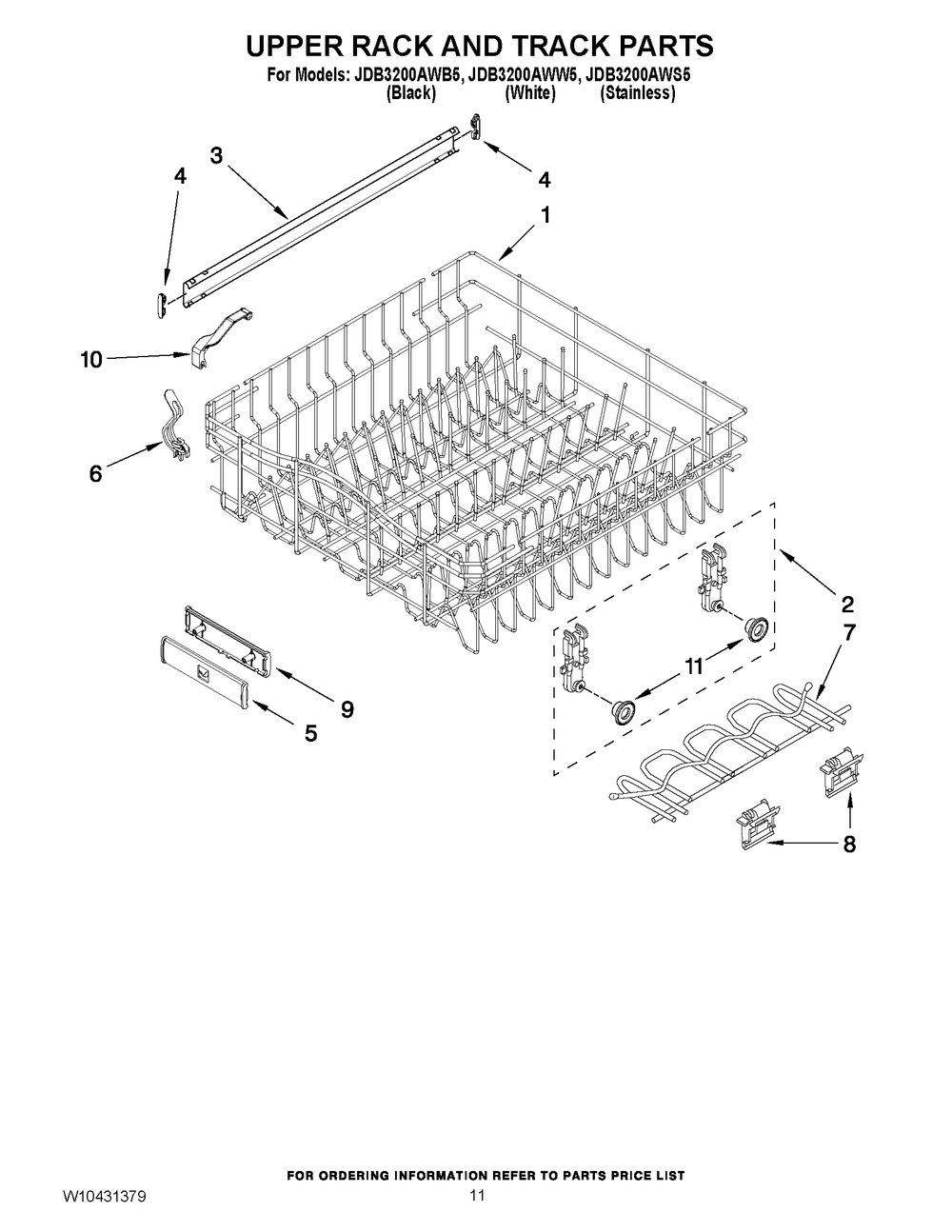 Diagram for JDB3200AWS5