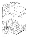 Diagram for 02 - Upper Oven