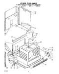 Diagram for 03 - Lower Oven