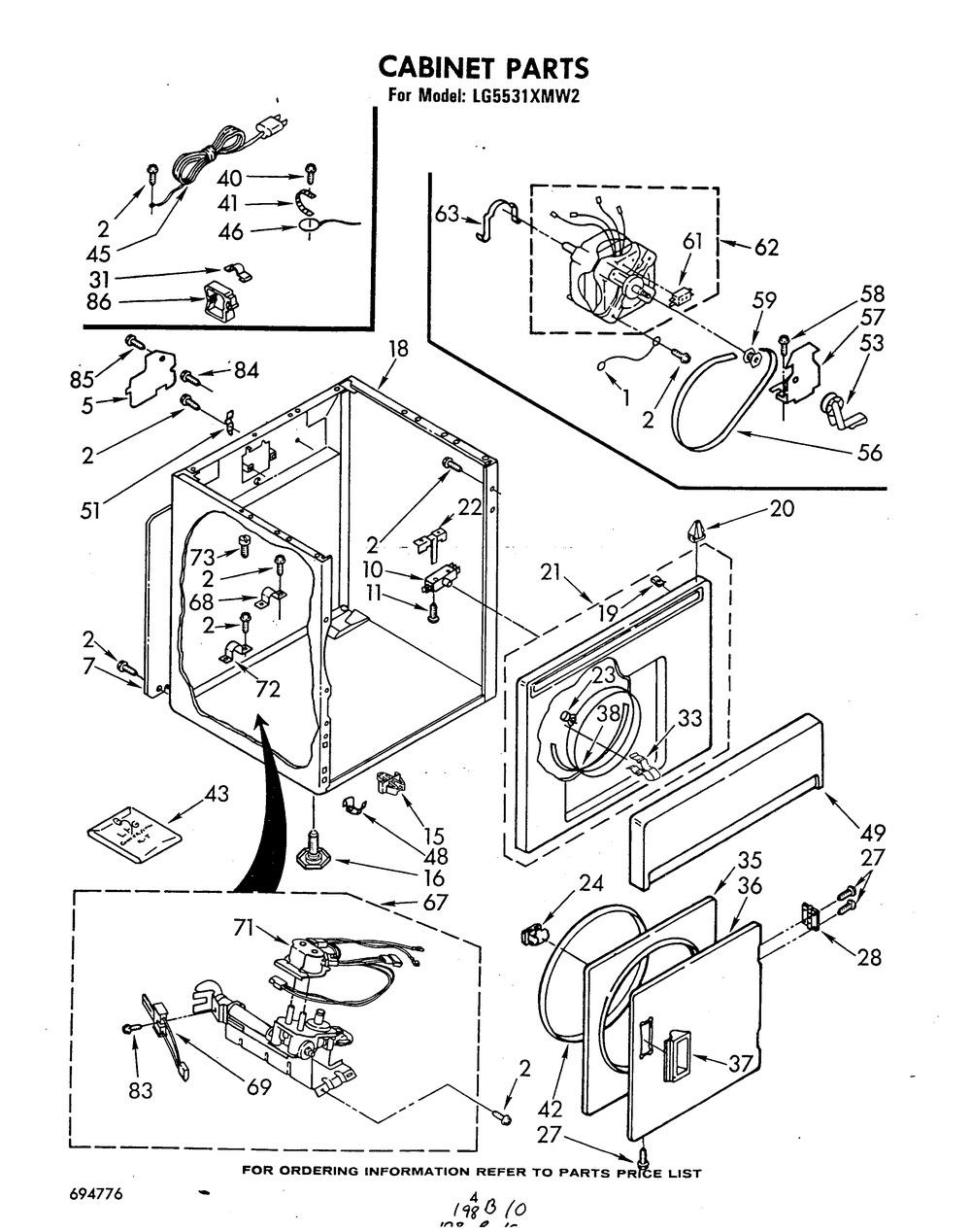 Diagram for LG5531XMW2