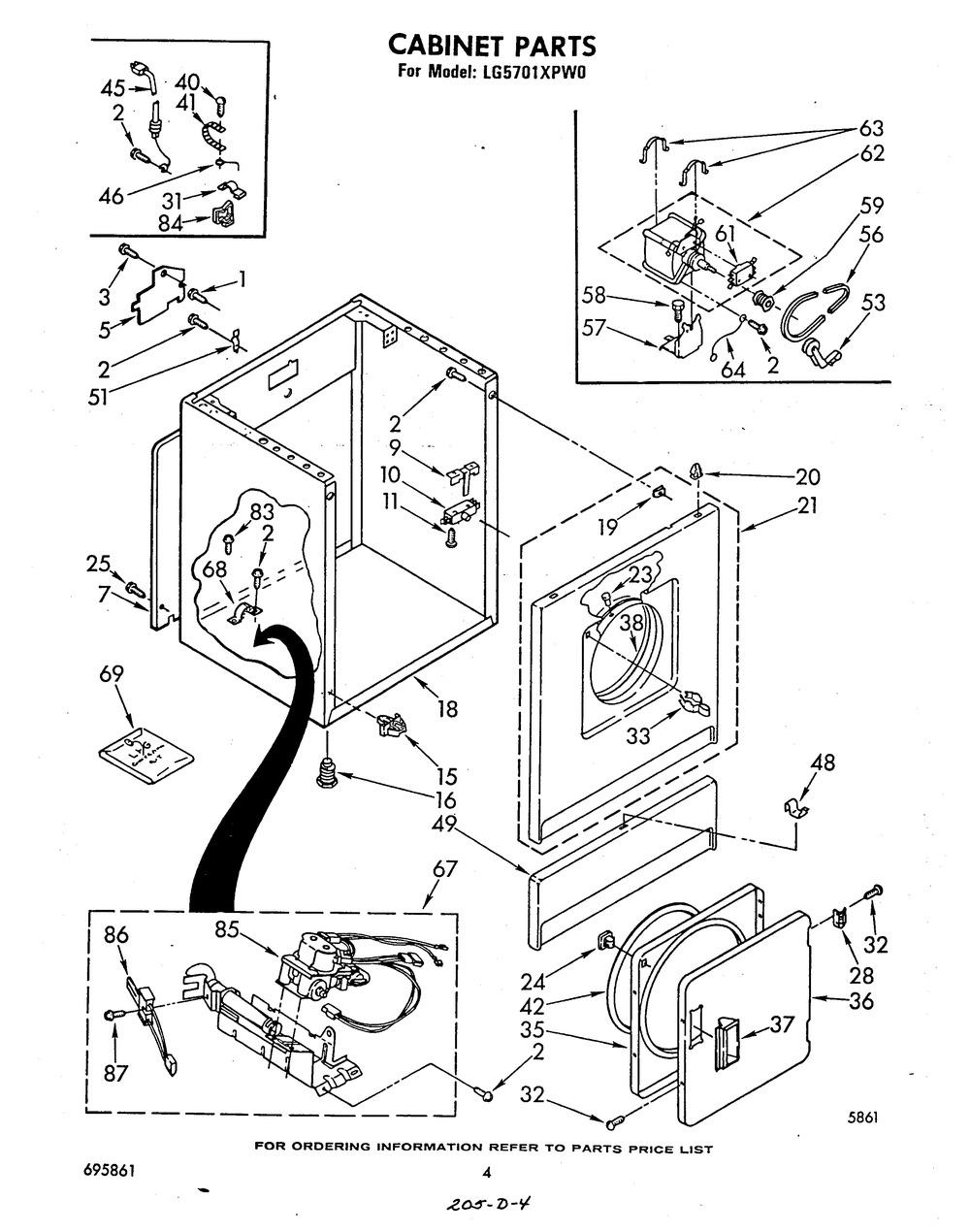 Diagram for LG5701XPW0