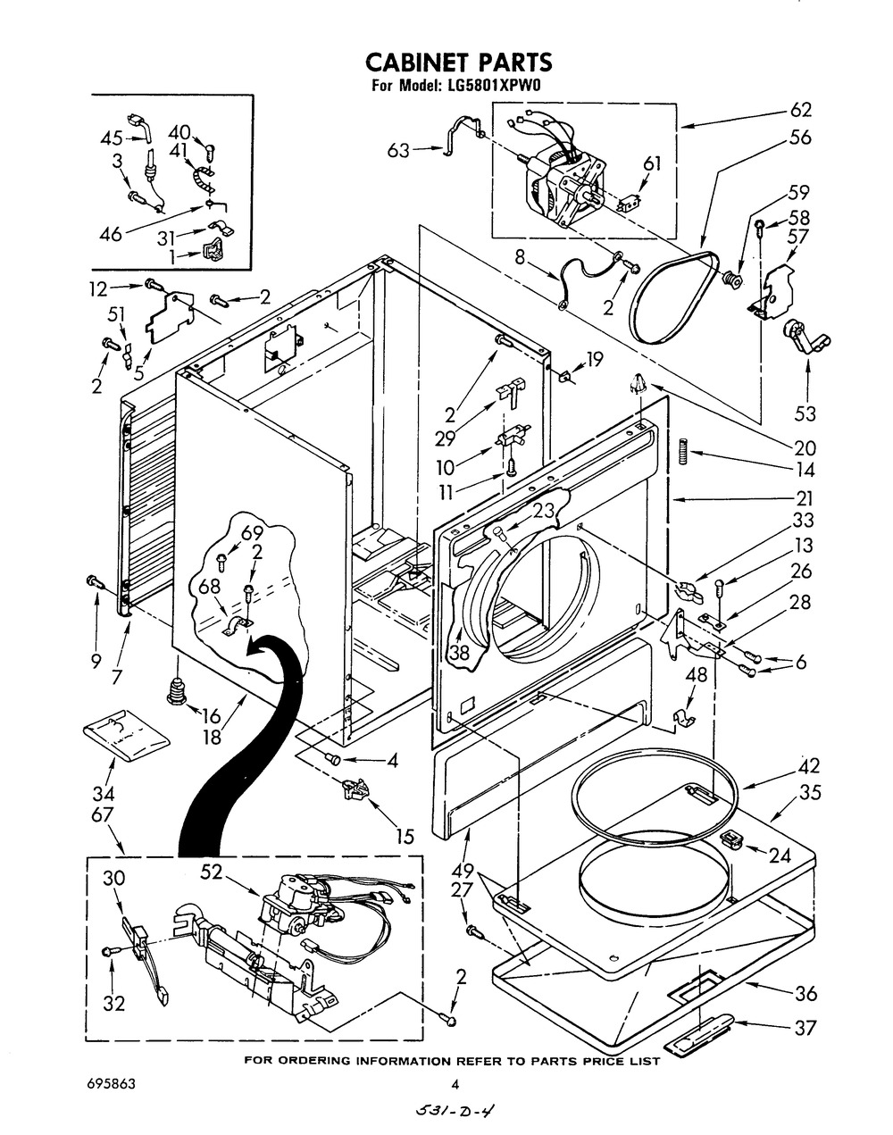 Diagram for LG5801XPW0