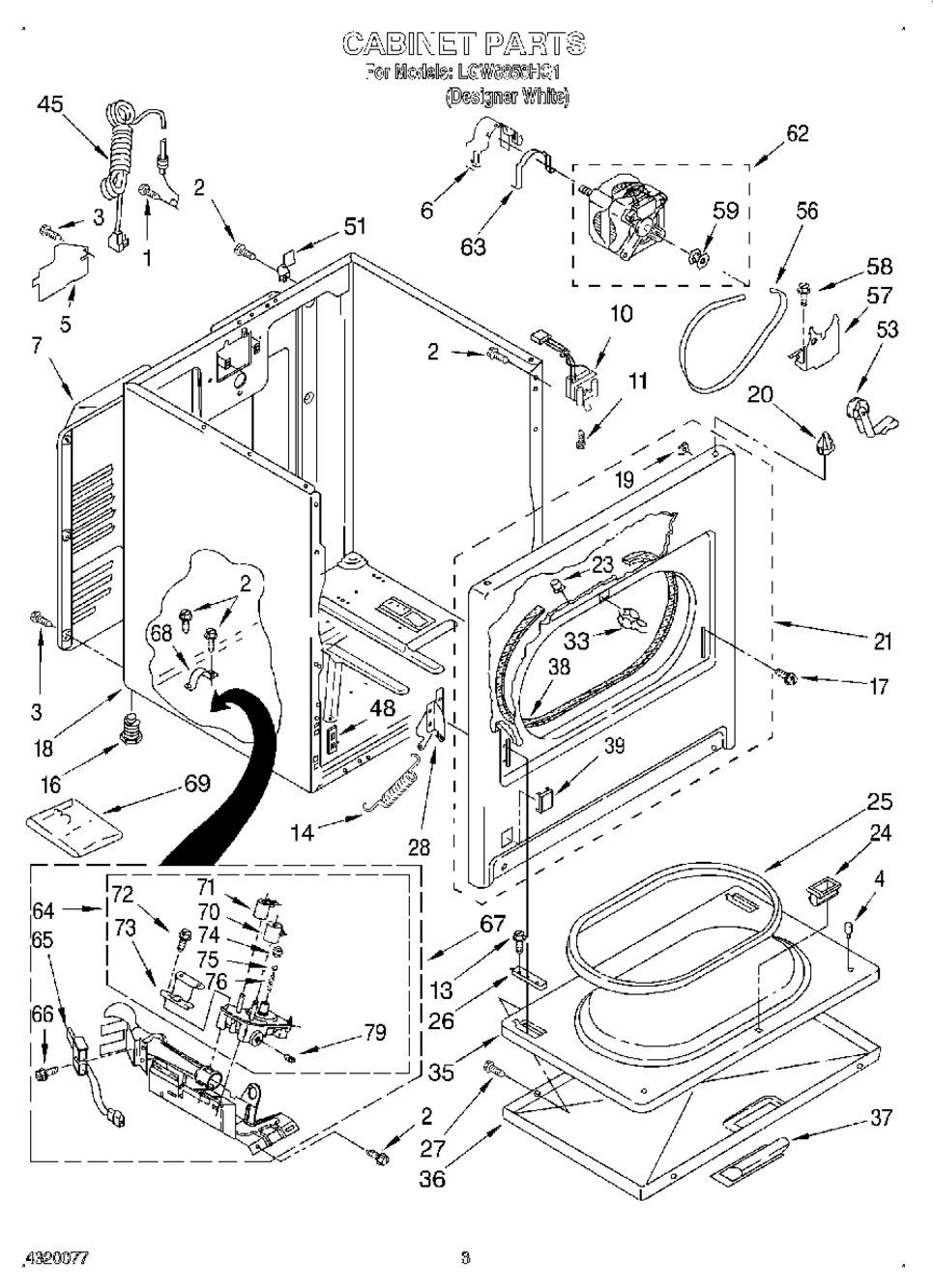 Diagram for LGW8858HQ1