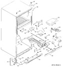 Diagram for 4 - Fresh Food & Cabinet Parts