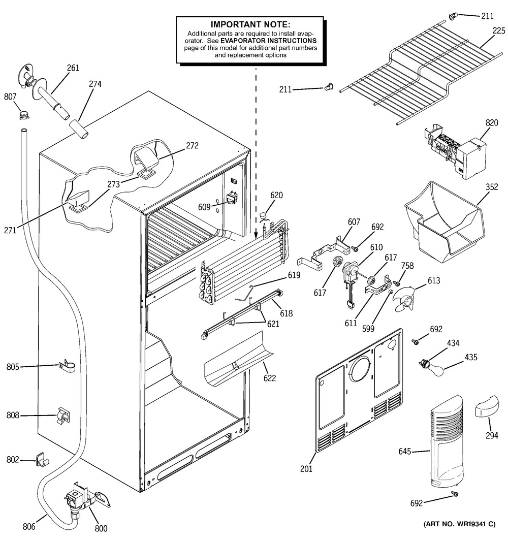 Diagram for GTS18WCPFRCC