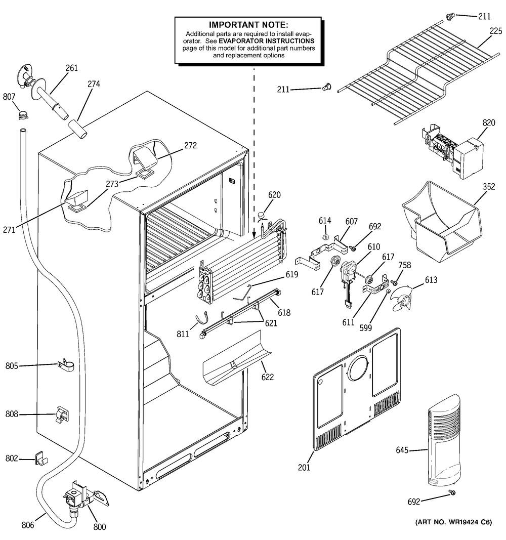 Diagram for GTH18DCRTLCC
