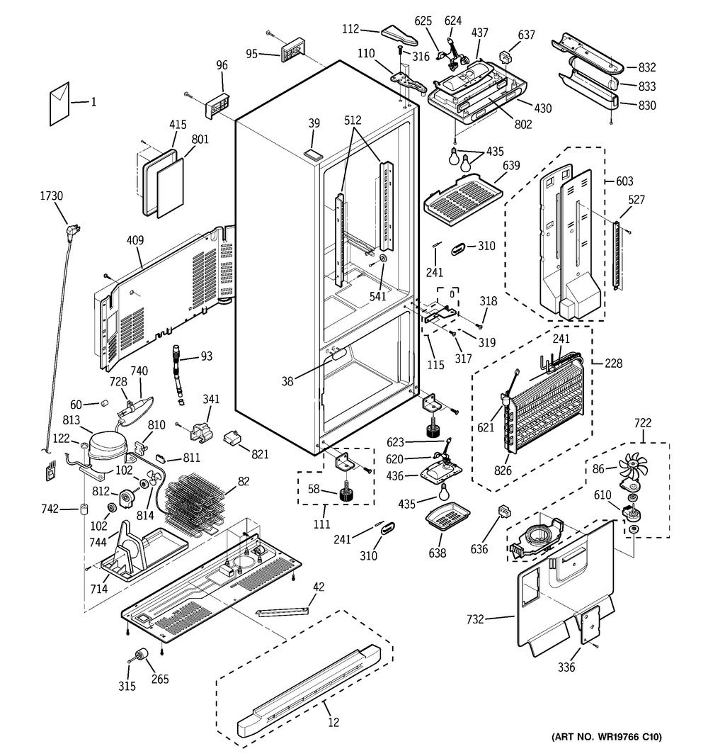 Diagram for PDW22SCRBRSS