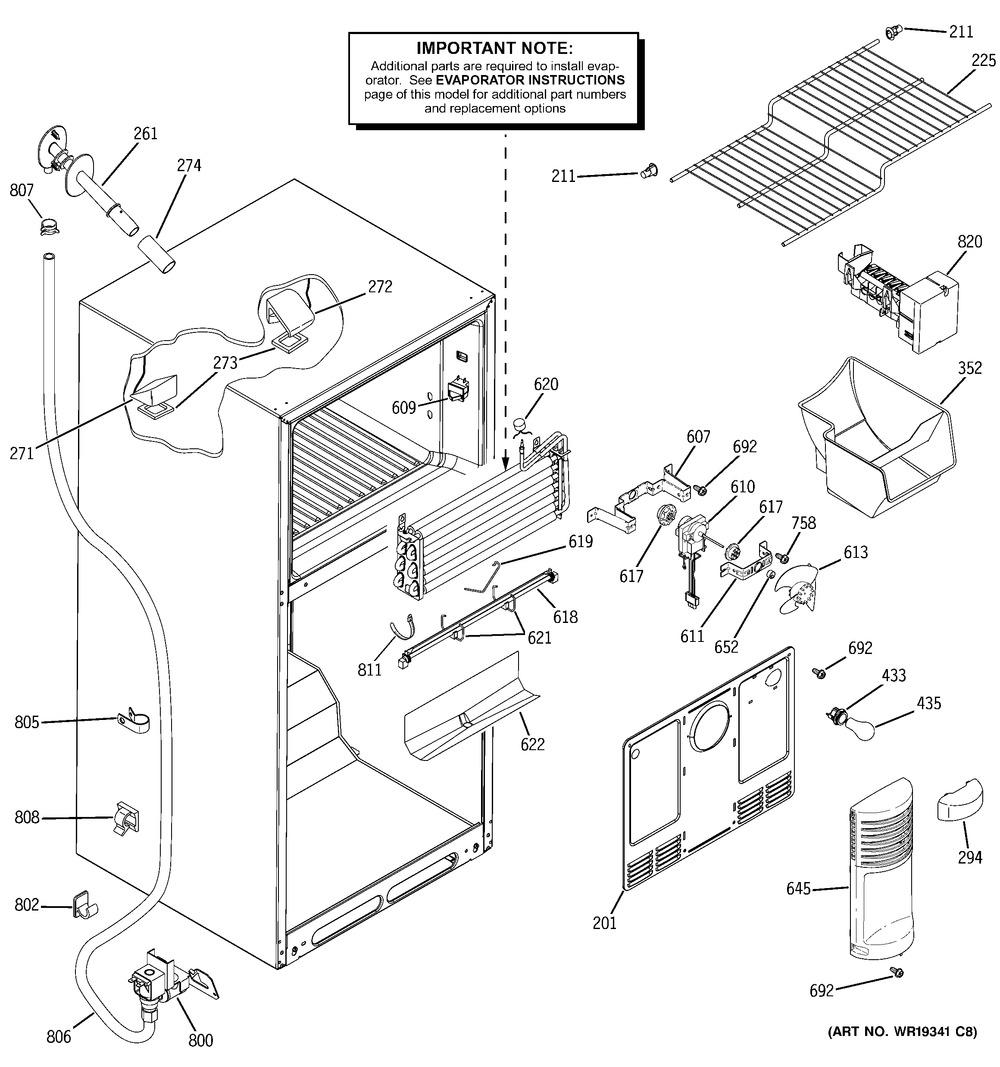 Diagram for GTS18WCPVRWW