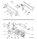 Diagram for 1 - Backsplash, Blower & Motor Assembly