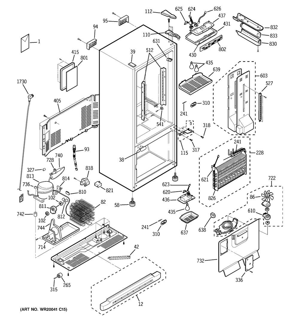 Diagram for PDF22MFWBBB