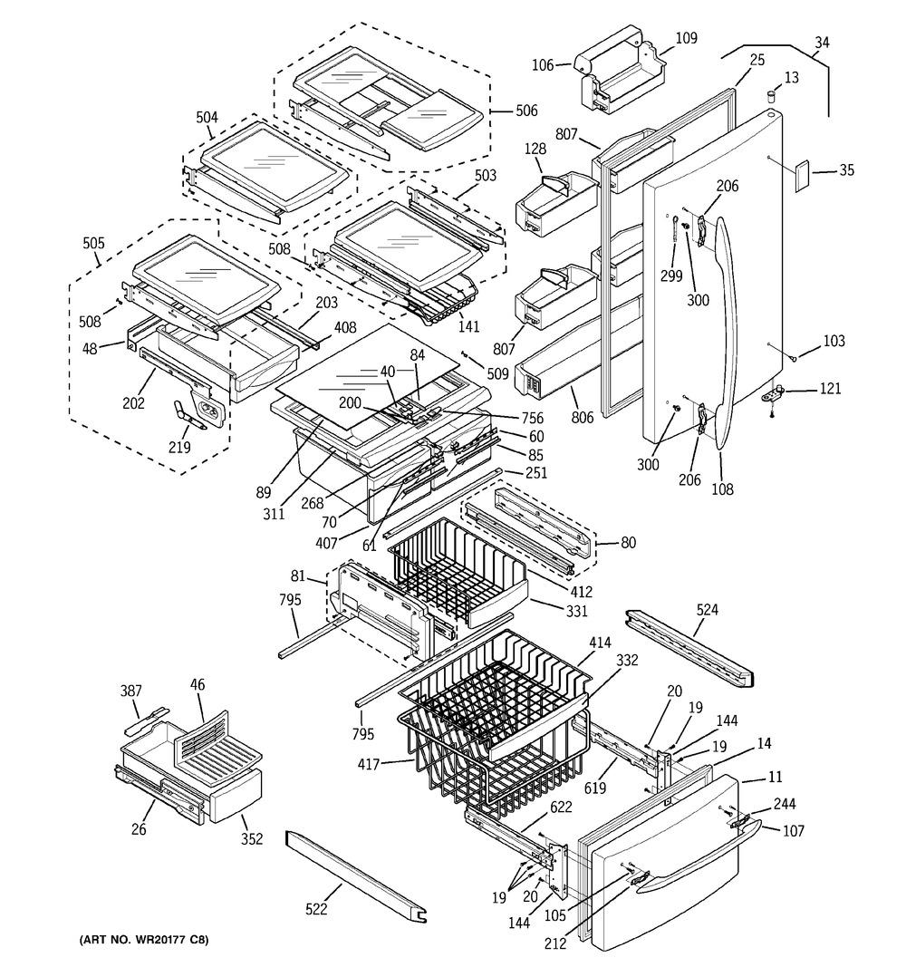Diagram for PDS22MFWCWW
