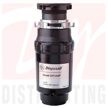 GFC325FDS - GE GFC325FDS 1/3 HP Continuous Feed - Garbage Disposal