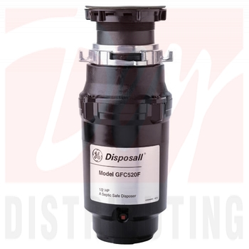 GFC520FDS - GE GFC520FDS 1/2 HP Continuous Feed - Garbage Disposal