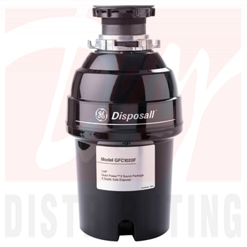 GFC1020V - GE GFC1020FDS 1 HP Continuous Feed - Garbage Disposal