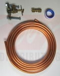 Installation Kit for Inline Water Filter-15' Copper