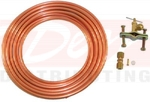 Universal Installation Kit for Inline Water Filters-Copper