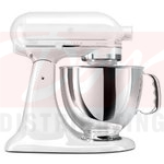 KitchenAid Artisan 5 Quart Stand Mixer - White on White