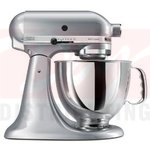 KitchenAid Artisan 5 Quart Stand Mixer - Metallic Chrome