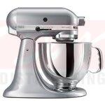 KitchenAid Artisan 5 Quart Stand Mixer - Metallic Chrome