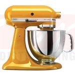KitchenAid Artisan 5 Quart Stand Mixer - Yellow Pepper