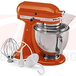 KitchenAid Artisan 5 Quart Stand Mixer - Persimmon