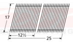 BBQ Gas Grill Porcelain Steel Wire Cooking Grid - 51022