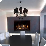 Continental Clean Face Direct Vent Gas Fireplace