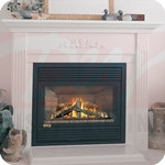 Continental Rear Direct Vent Gas Fireplace