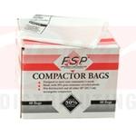 "18"" Plastic Trash Compactor Bags (60 Pk)"