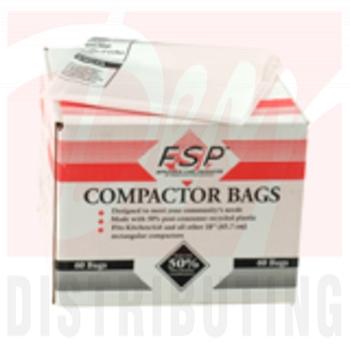 "W10165293RB - 18"" Plastic Trash Compactor Bags (60 Pk)"