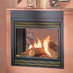 Continental See Thru Natural Vent Gas Fireplace