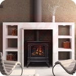 Continental Direct Vent Gas Stove
