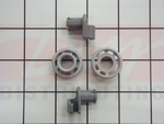Bosch Dishwasher Upper Rack Roller Set