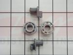 Bosch Dishwasher Upper Rack Roller Set
