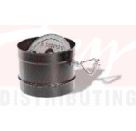 """M&G DuraVent 1605 6"""" Single Wall Stove Pipe Damper Section"""