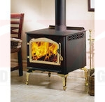 Continental C1100PL-1 EPA 1.7 Cubic Foot Wood Burning Leg Mount Stove