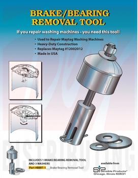 Bbrt 1 Washing Machine Break Bearing Removal Tool