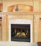 Continental Electric Ignition Direct Vent Fireplace