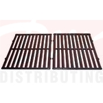BBQ Gas Grill Porcelain Coated Cast Iron Cooking Grid Set - 68252