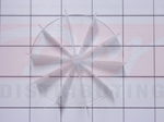 Frigidaire Refrigerator Evaporator Fan Blade