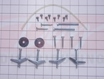 Electrolux Microwave Oven Hardware Kit
