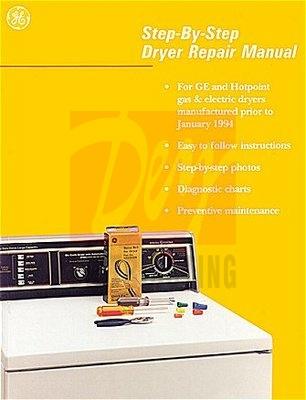Wx10x116 Ge Dryer Repair Manual Dey Appliance Parts