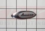 Amana Refrigerator Nameplate