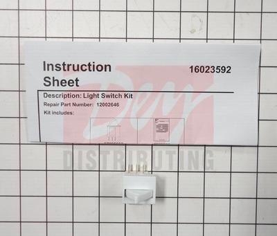 12002646 Whirlpool Refrigerator Door Switch Dey
